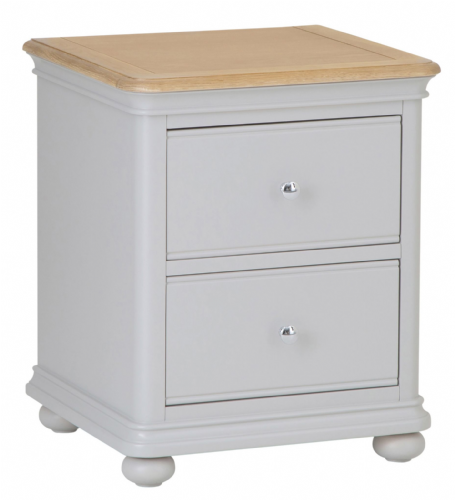 Manhattan Grey Bedside Cabinet